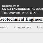 Geotechnical Engineering lecture notes from university of Utah