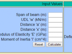 slope and deflection calculator of cantilever
